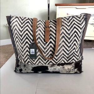 Handbags - Myra upcycled Volatile Weekender Bag NWT
